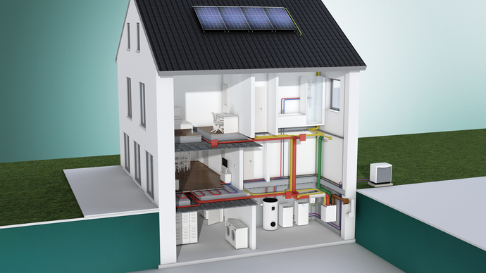 auroPOWER – Vaillant solcellesystem
